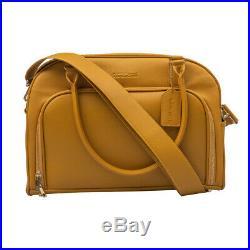 Mealami Mustard Meal Prep Handbag Management Laptop Bag Travel Gym