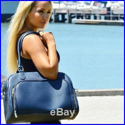 Mealami Navy Meal Prep Handbag Management Laptop Bag Travel Gym