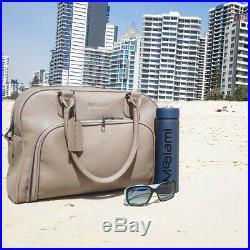 Mealami Stone Mini Meal Prep Handbag Management Laptop Bag Travel Gym Grey