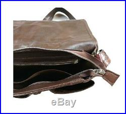 Men's Genuine Crocodile Leather Bag Shoulder Laptop Women Messenger Briefcase
