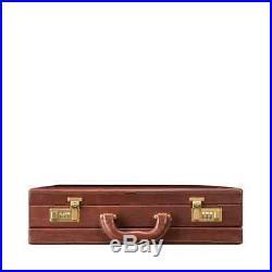 Messenger Bag Leather Briefcase Laptop Case Attache Lawyer Womens Mens Wallet