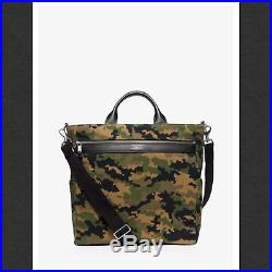 Michael Kors Camo Grant Bonded- Canvas Laptop Tote Bag $398