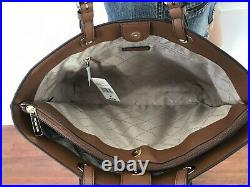 Michael Kors Jet Set Travel Large Commuter Tote Vanilla MK Signature Laptop Bag