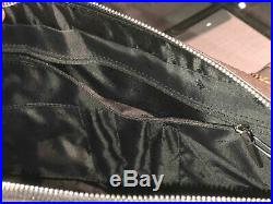 Michael Kors Men Business Briefcase Shoulder Crossbody Laptop Bag PVC Leather MK