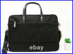 Michael Kors Signature Large Convertible Laptop Shoulder Bag Black RRP £144.99
