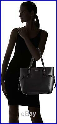 Michael Kors Voyager East/West Leather Tote Bag Women Laptop Handbag Compatible