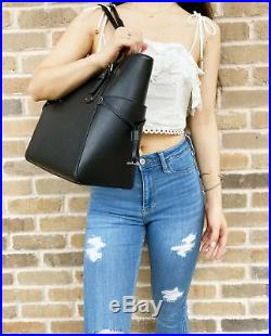 Michael Kors Voyager East West Leather Tote Bag Women Laptop Handbag Compatible