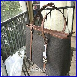 Michael Kors Women Ladies Fashion Large PVC Leather Shoulder Tote Bag Handbag MK