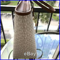 Michael Kors Women Lady Large PVC Leather Shoulder Tote Bag Purse Handbag Laptop