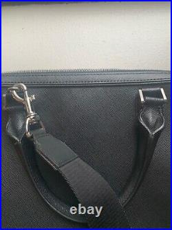Mont Blanc black laptop bag