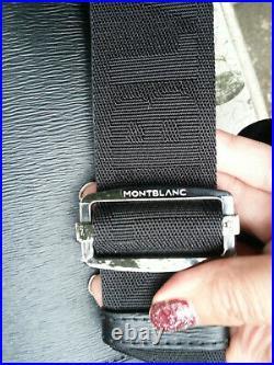 Montblanc Westside Collection Zip Around Top Messenger Document Case Laptop Bag