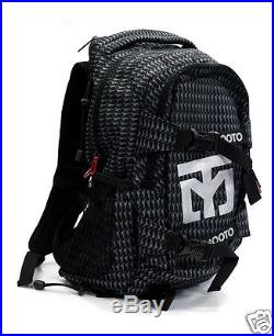 Mooto Martial Arts Backpack Taekwondo Hapkido Aikido Karate MMA Laptop Bag Black