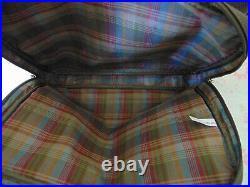 Mulberry Clipper Bag Briefcase Overnight Holdall Heritage Scotchgrain & Lea