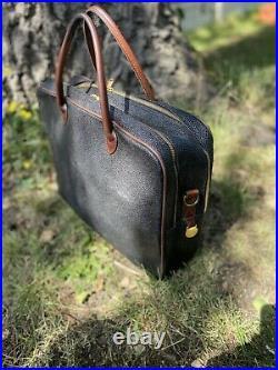 Mulberry Laptop Or Weekend Bag, Scotchgrain, Very Vintage, Vgc