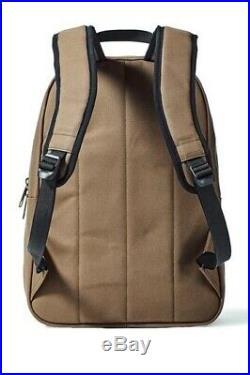 NEW! Filson Bandera Backpack Canvas Sepia Brown Laptop Bag Women Men Boy Travel