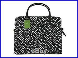 NEW Kate Spade Daveney Wilson Road Musical Dots Laptop Shoulder Bag Handbag