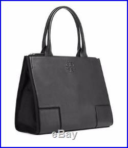 NEW TORY BURCH T logo leather women briefcase business work Tote Laptop Bag