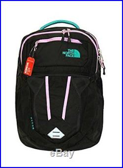 NEW The North Face Women Recon 15 laptop backpack book bag 19X14X4