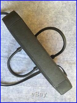 NWOT Kate Spade Black Leather 13 Laptop Messenger Briefcase Crossbody Bag
