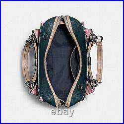NWT COACH DREAMER satchel 31633 Colorblock Leather laptop tote shoulder Bag