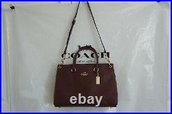 NWT COACH F77884 Mia Satchel tote shoulder bag Leather Handbag laptop briefcase