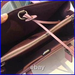 NWT Coach Cooper satchel 22821 Glovetanned Leather tote shoulder bag laptop