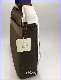 NWT Fossil Evan Messenger Bag Men's or Women's Laptop Bag