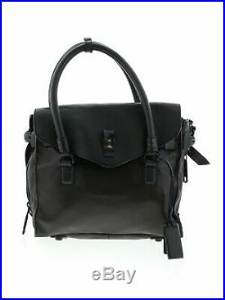 NWT Joy Gryson Women Black Leather Laptop Bag One Size