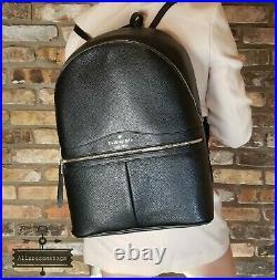 NWT KATE SPADE Karina Large Backpack Leather handbag shoulder bag laptop tote