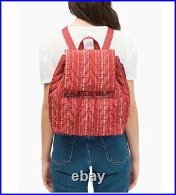 NWT Kate Spade Ellie Large Flap Backpack shoulder bag satchel laptop WKRU6439