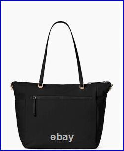 NWT Kate Spade Jae Baby Nylon Diaper Bag w Pad nylon black gym laptop travel