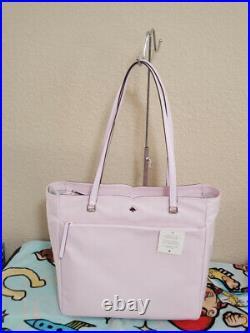 NWT Kate Spade Jae Nylon Large Tote pink Handbag laptop bag