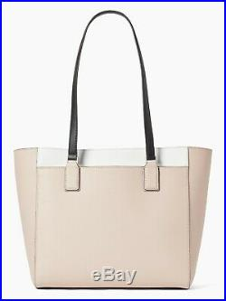 NWT Kate Spade New York Large Women's Laptop Open Tote Bag Middle Zip Pocket