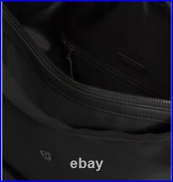 NWT LULULEMON Easy Days Backpack laptop Black laptop shoulder bag