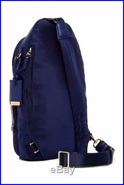 NWT Tumi Brive Sling Women's Backpack Travel Laptop Bag Moroccan Blue