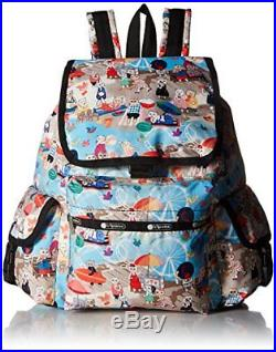 New Arrival Women Bag LeSportsac Classic Voyager Backpack, Laptop Caturday