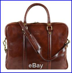 New Genuine Leather Laptop Messenger Bag Handmade Vintage Men Women Briefcase