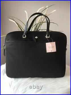 New Kate Spade Jae Laptop bag nightcap Black College School