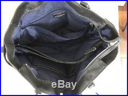 New Tumi Women Villa Viverone Black Brief Tote Carry On Luggage Laptop Purse Bag