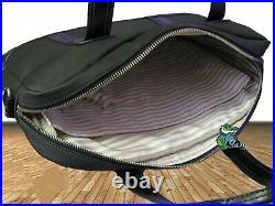 New VINTAGE LACOSTE Business Style Briefcase LapTop Bag Classic Chic 7 Black