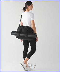 New With Tag Lululemon Yin Time Bag Dots Black Laptop Gym Yoga Travel Work