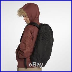 Nike NikeLab Backpack Black Mens Womens School Book Bag Laptop Nylon Leather