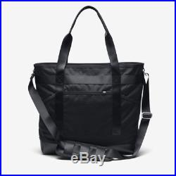 Nike NikeLab Tote Bag Black Mesh Leather Mens Womens School Book Bag Laptop