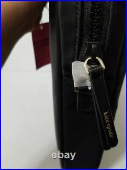 Nwt Kate Spade Jae Laptop Bag /crossbody Bag In Black Nylon Wkru6618
