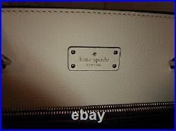 Nwt Kate Spade Maeve Grove Street Shoulder Bag Laptop Tote Black White