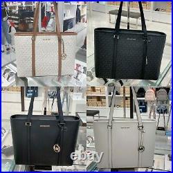 Nwt Michael Kors Sady Lg Leather Tote Bag Multi Color