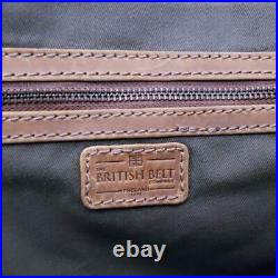 Nwt Rare Harris Tweed Unisex Women Men Messenger Laptop Bag Briefcase Orvis
