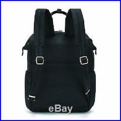 PacSafe Women's Citysafe CX 17L Anti Theft Backpack-Fits 13 inch Laptop Black