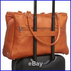 Piel Laptop Travel Tote 3 Colors Women's Business Bag NEW