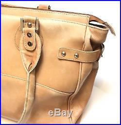 Piel Leather Womens Computer Laptop Tote Bag Large Handbag